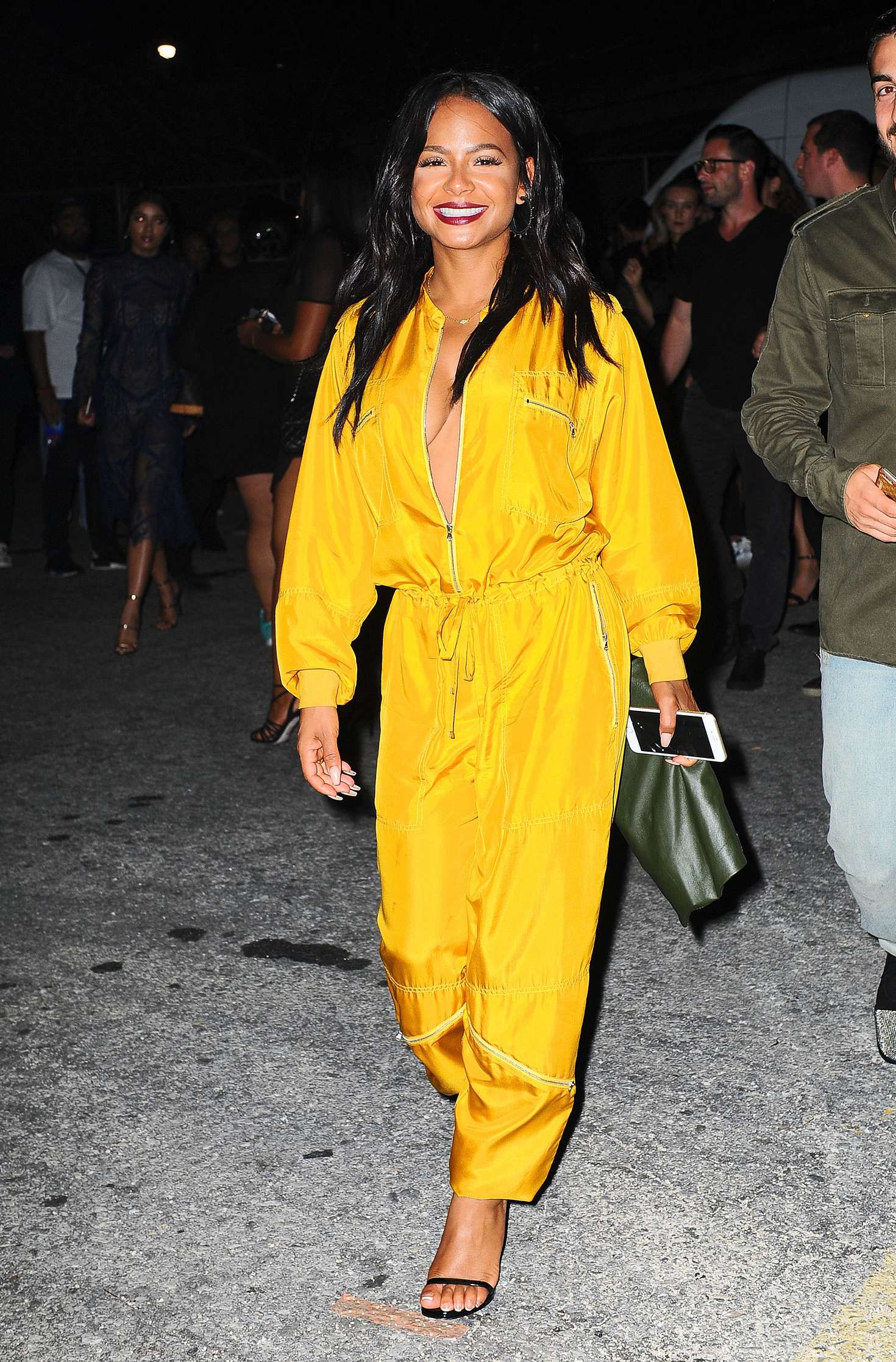 Karrueche Tran 2016 : Karrueche Tran and Christina Milian at Alexander Wang x Adidas Party -03