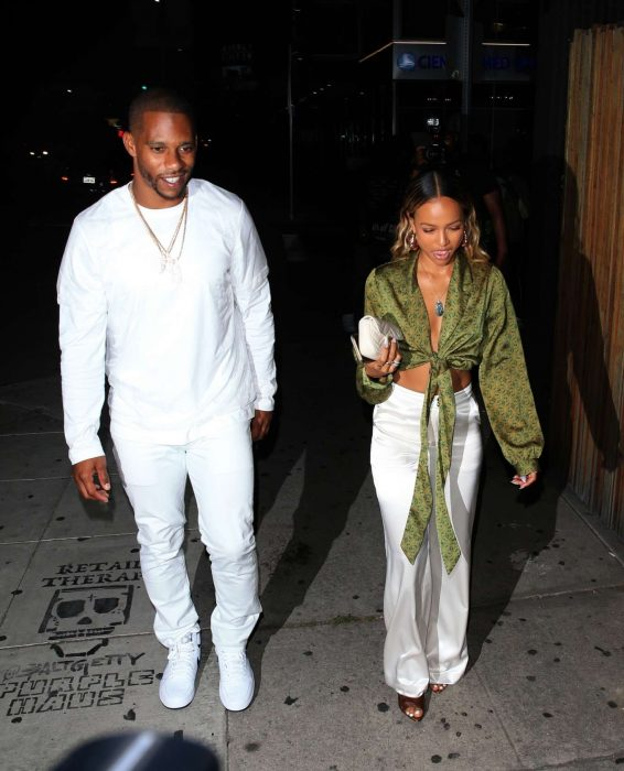 Karrueche Tran - Arrives at The Nice Guy in West Hollywood