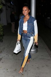 Karrueche Tran - Arrives to dinner at Mr Chows in Beverly Hills
