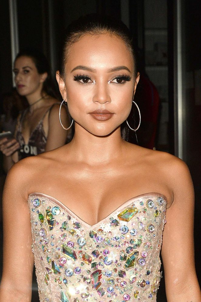 Karrueche Tran - Arrives to The Blonds Fashion Show at 2016 NYFW in NYC