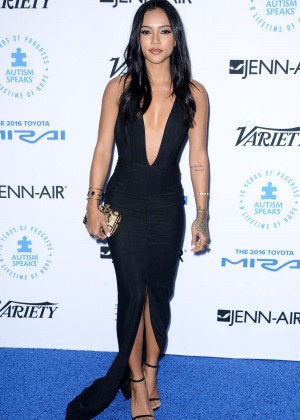 Karrueche Tran - Autism Speaks To Los Angeles Celebrity Chef Gala in Santa Monica