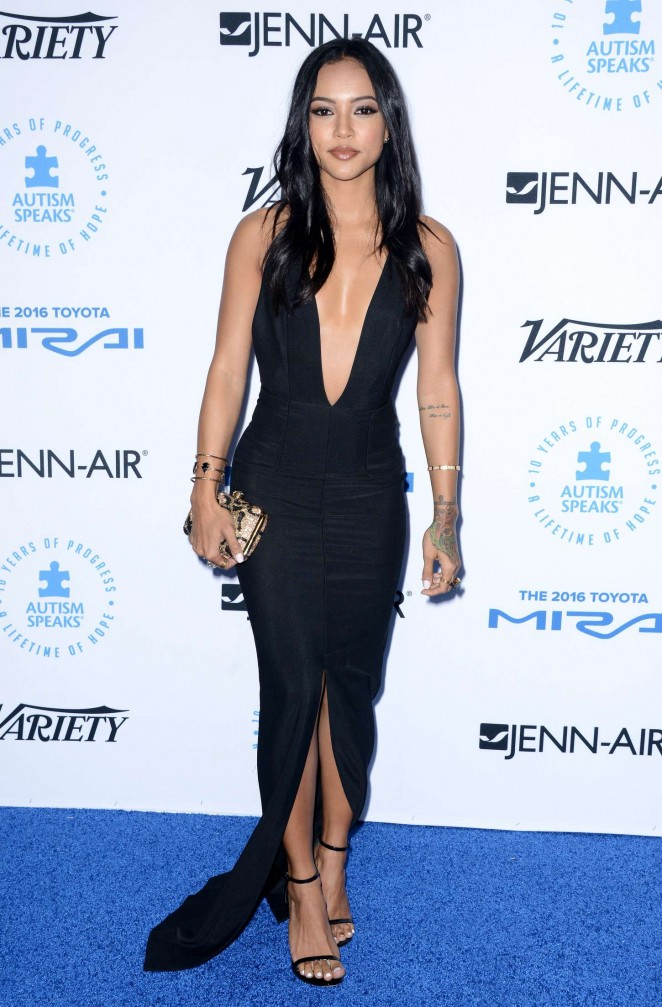 Karrueche Tran: Autism Speaks To Los Angeles Celebrity Chef Gala -07
