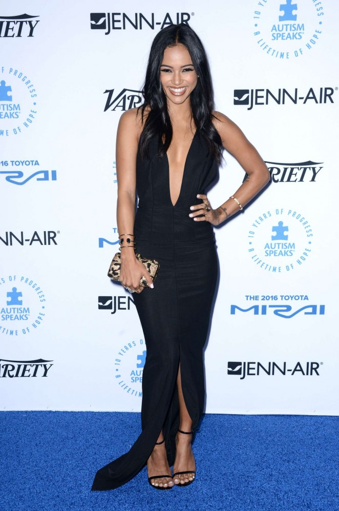 Karrueche Tran: Autism Speaks To Los Angeles Celebrity Chef Gala -09