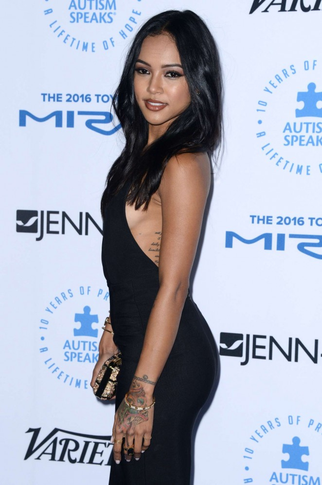Karrueche Tran: Autism Speaks To Los Angeles Celebrity Chef Gala -11