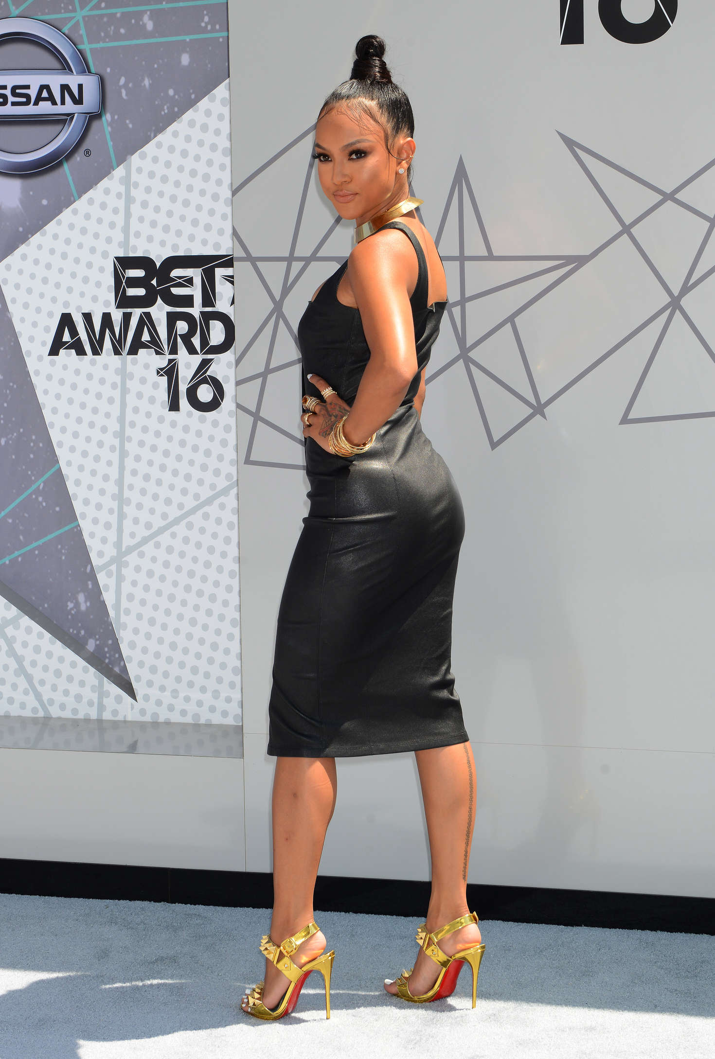 Karrueche tran at 2019 bet awards in los angeles