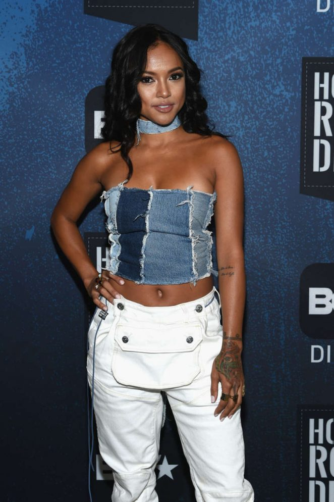 Karrueche Tran - BET How To Rock: Denim in NY