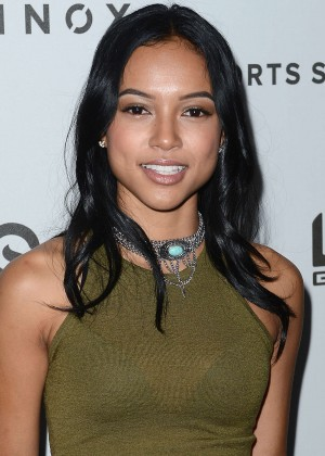 Karrueche Tran - Celebrity Basketball Spectacular in LA