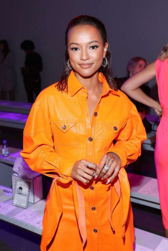 Karrueche Tran - Christian Cowan Show at New York Fashion Week