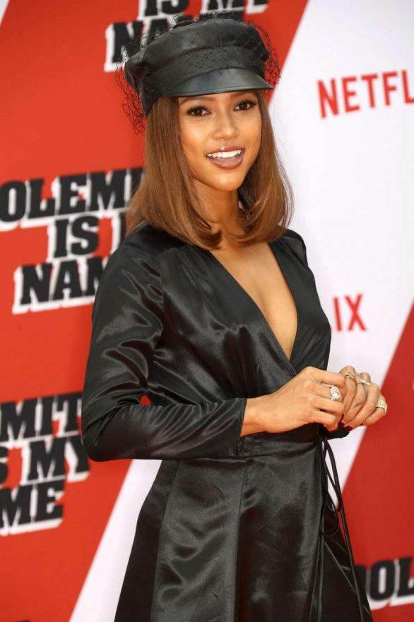 Karrueche Tran - 'Dolemite Is My Name' Premiere in Los Angeles
