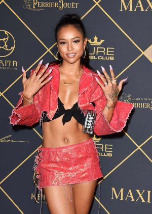 Karrueche Tran - Maxim Hot 100 event in Hollywood