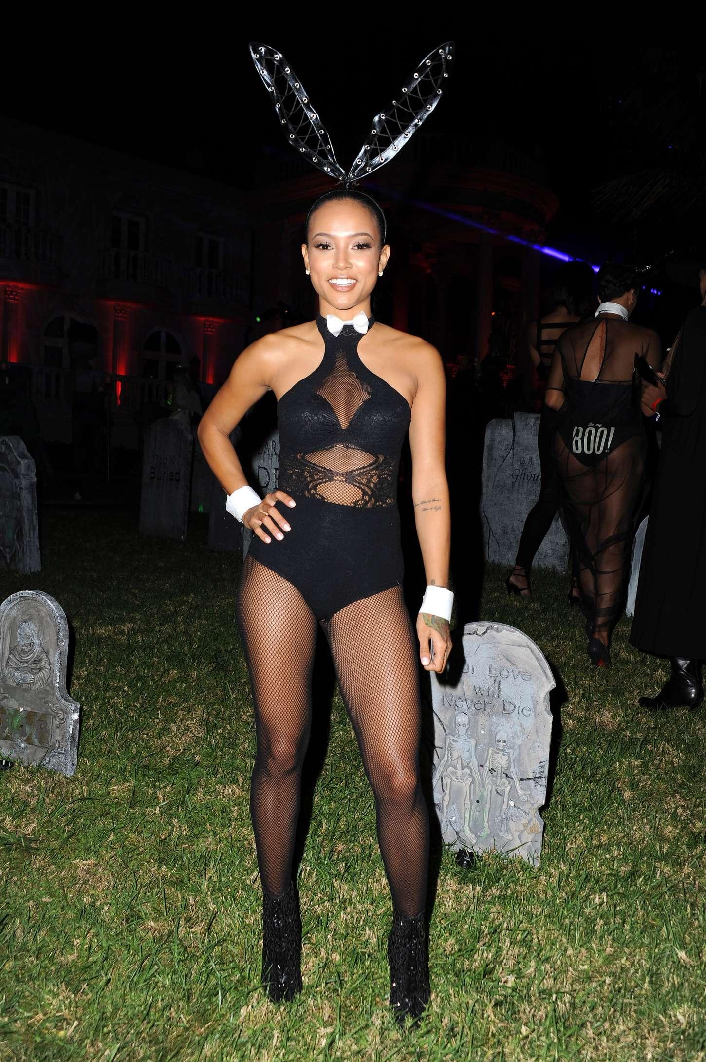 Karrueche Tran: MAXIM Magazines Official Halloween Party -07 ...