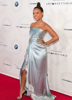 Karrueche Tran - Photocall at 16th Annual Unforgettable Gala in Beverly Hill
