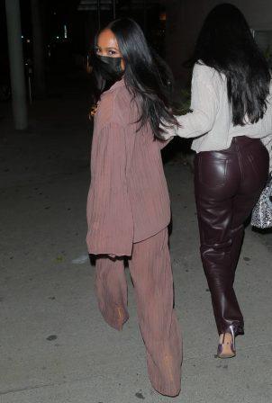 Karrueche Tran - Seen while leaving dinner in West Hollywood