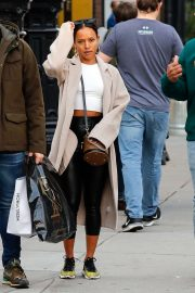 Karrueche Tran - Shopping in New York