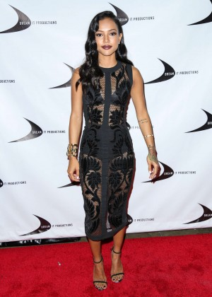 Karrueche Tran - 'Till We Meet Again' Premiere in Los Angeles