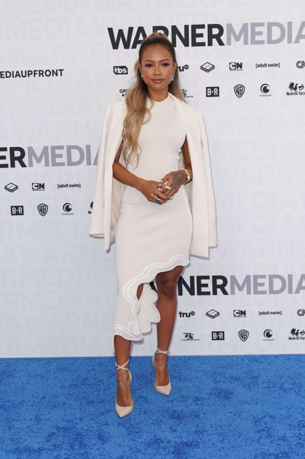 Karrueche Tran - WarnerMedia Upfront Presentation in NYC