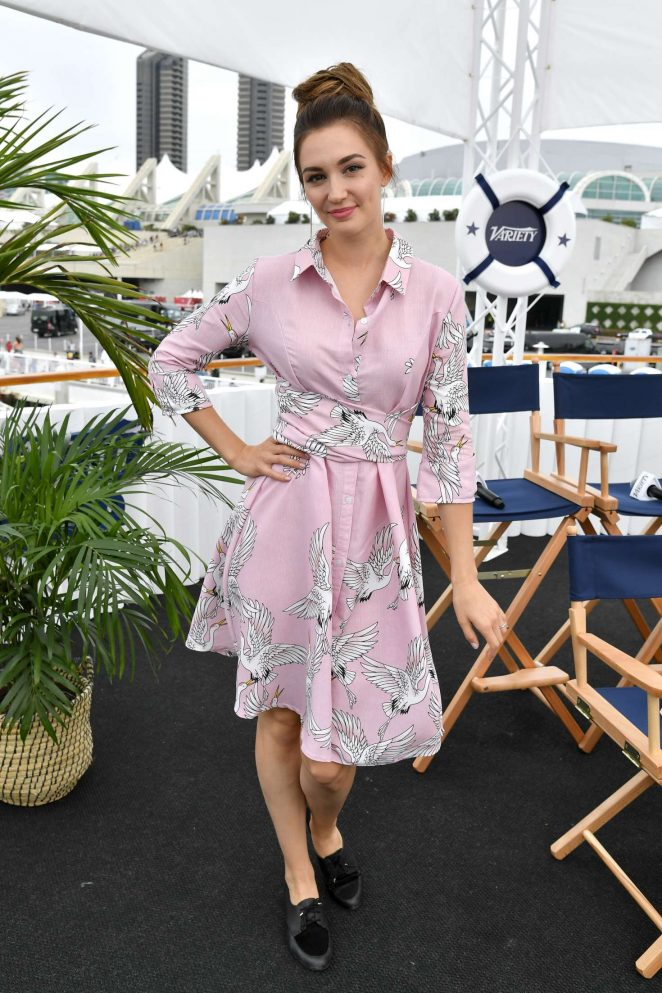Kat Barrell - Variety Studio 2018 Comic-Con Day 2 in San Diego