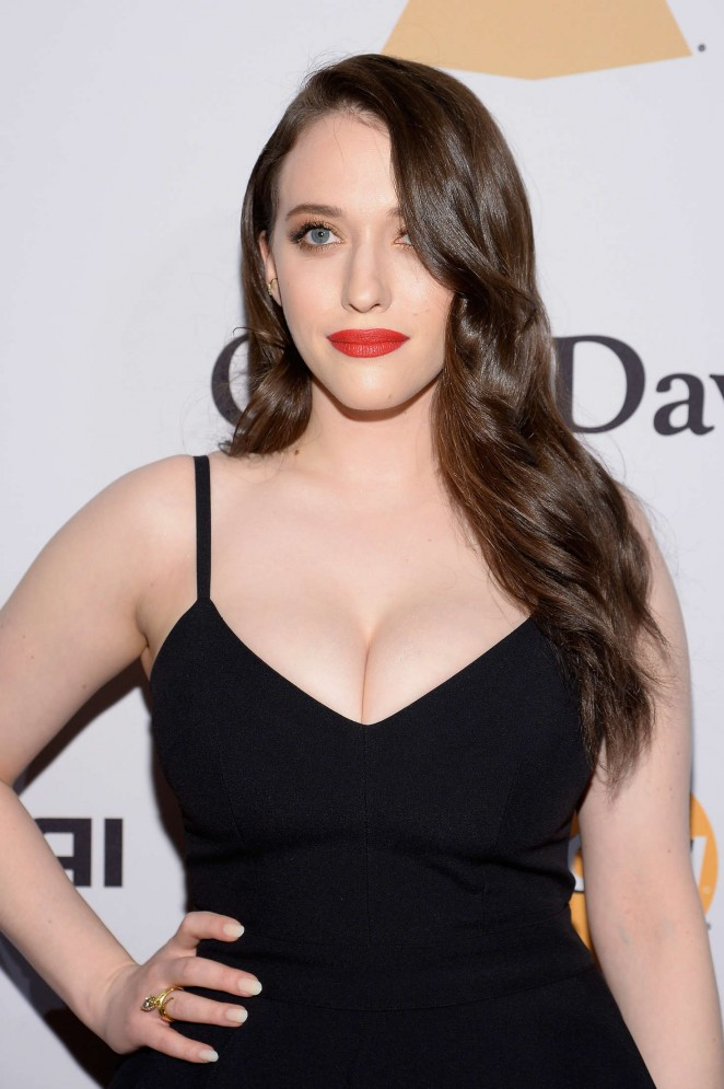 Kat Dennings - 2016 Pre Grammy Gala and Salute to Industry Icons with Clive Davis in LA