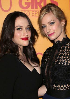 Kat Dennings and Beth Behrs – Broke Girls 100th Episode ...