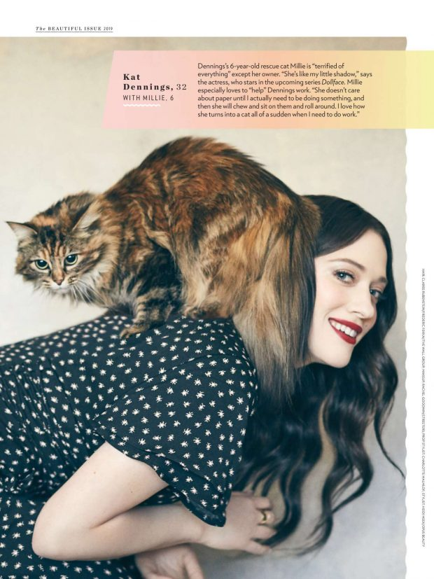 Kat Dennings for People Magazine (May 2019)