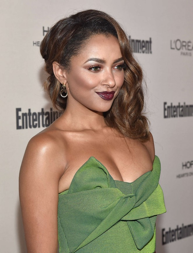 Kat Graham: 2015 Entertainment Weekly Pre-Emmy Party -01