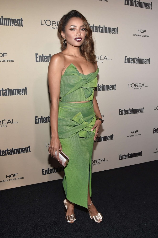 Kat Graham: 2015 Entertainment Weekly Pre-Emmy Party -02