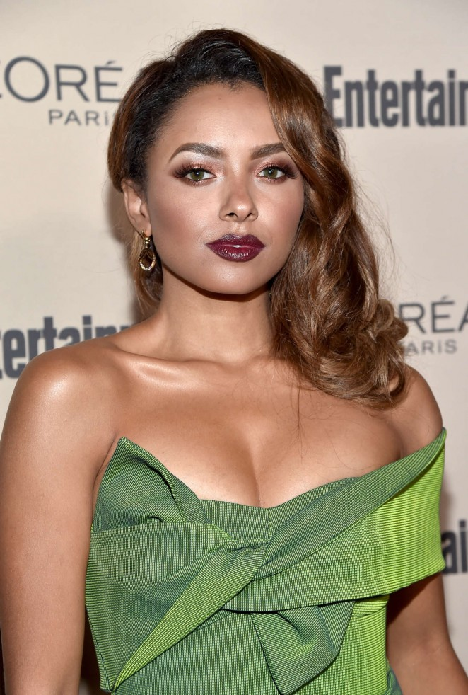 Kat Graham: 2015 Entertainment Weekly Pre-Emmy Party -06