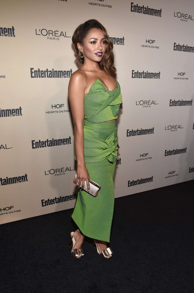 Kat Graham: 2015 Entertainment Weekly Pre-Emmy Party -14