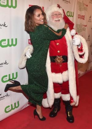 Kat Graham - 2015 Hollywood Christmas Parade in Hollywood