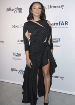 Kat Graham - 2017 amfAR generationCURE: Holiday Party in NYC