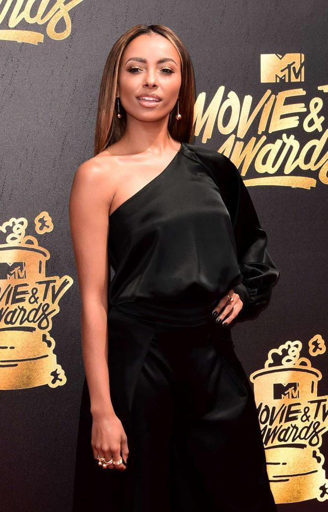 Kat Graham – 2017 MTV Movie And TV Awards in Los Angeles