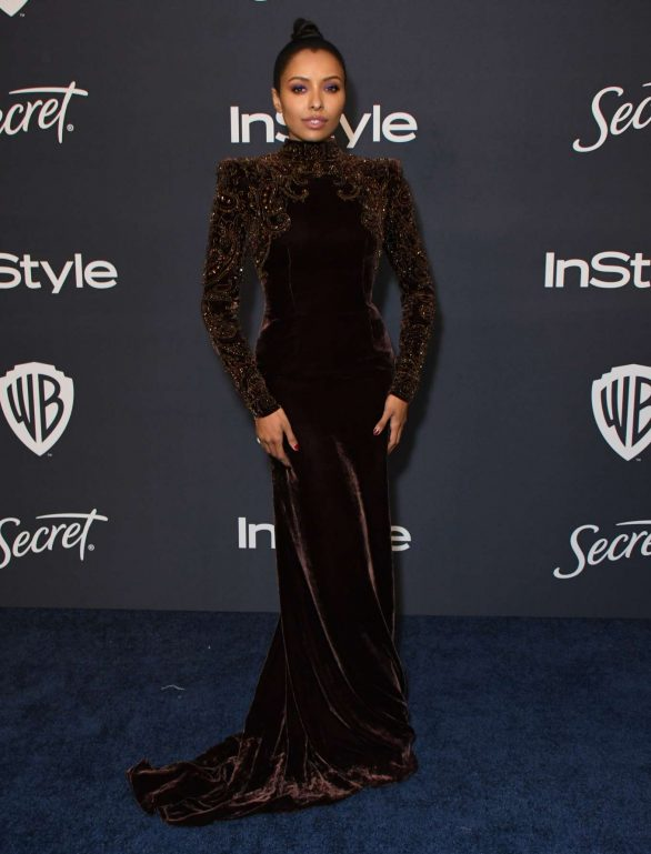 Kat Graham - 2020 InStyle and Warner Bros Golden Globes Party in Beverly Hills