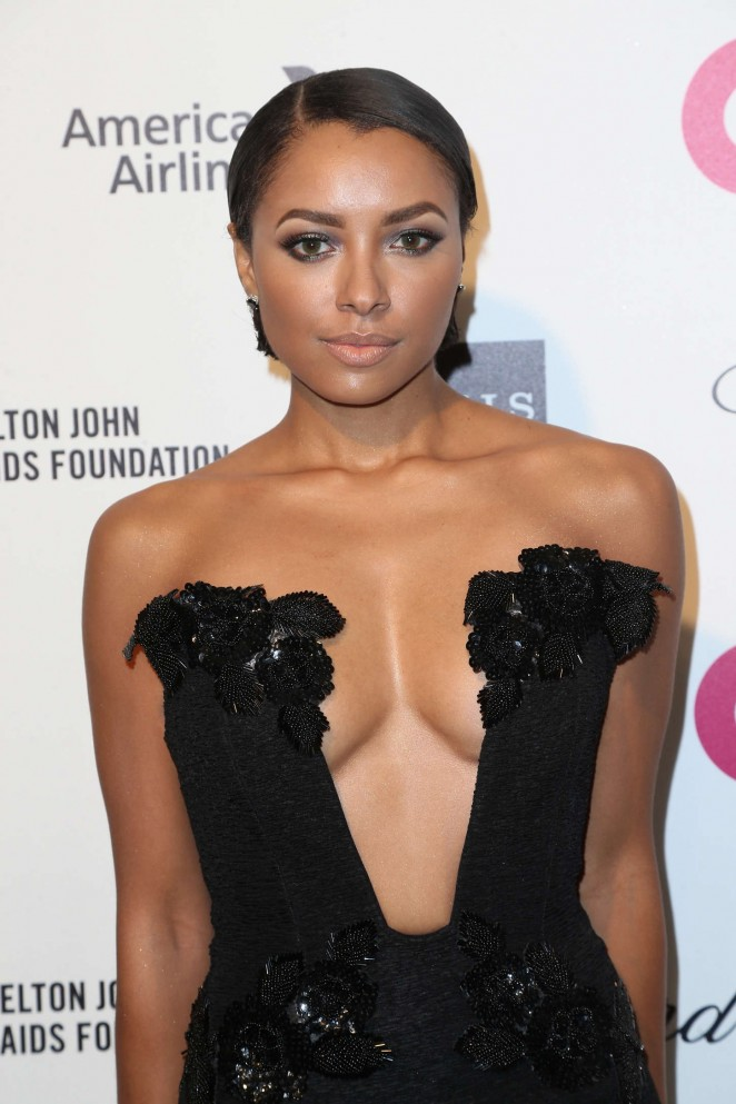 Kat Graham - Oscars 2015 - Elton John AIDS Foundation Academy Awards Party