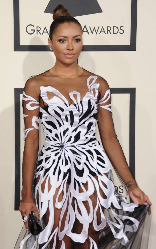Kat Graham - GRAMMY Awards 2015 in Los Angeles