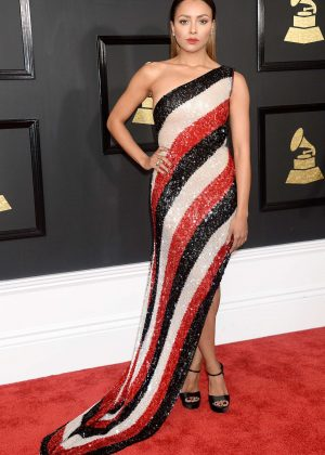 Kat Graham - 59th GRAMMY Awards in Los Angeles