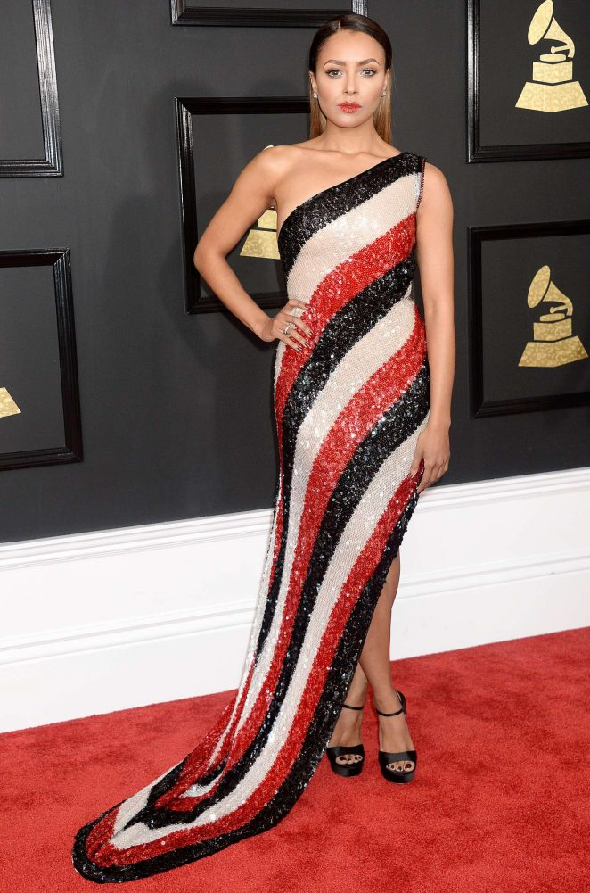Kat Graham – 59th GRAMMY Awards in Los Angeles