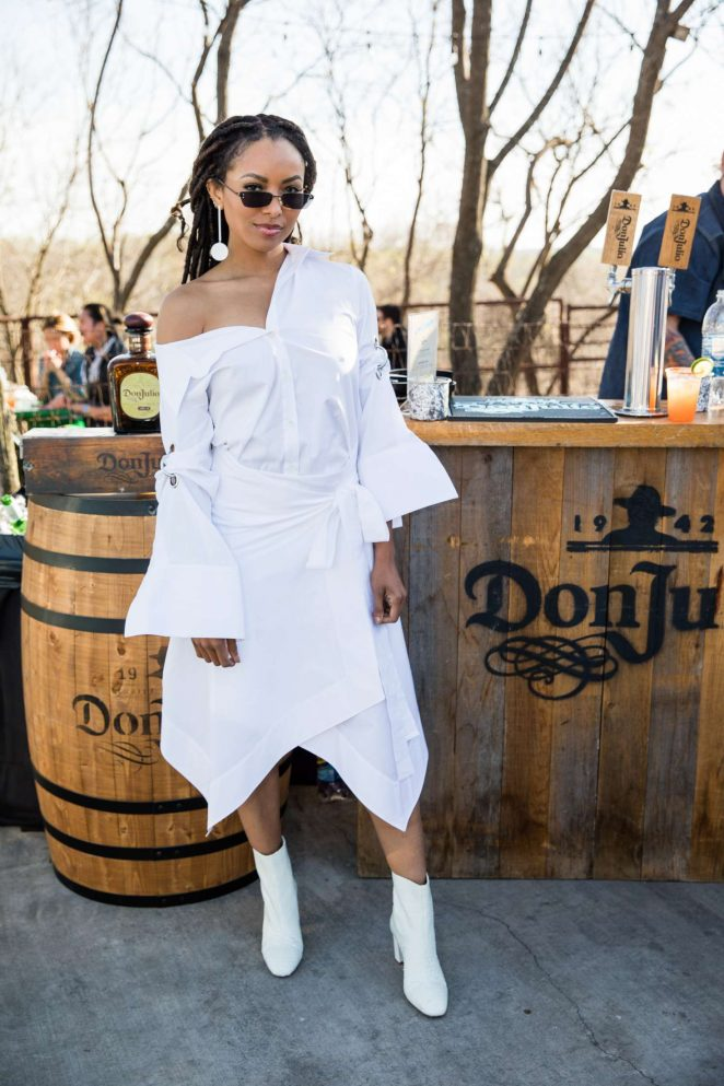 Kat Graham - Agave and EEEEEATS at 2018 SXSW in Austin