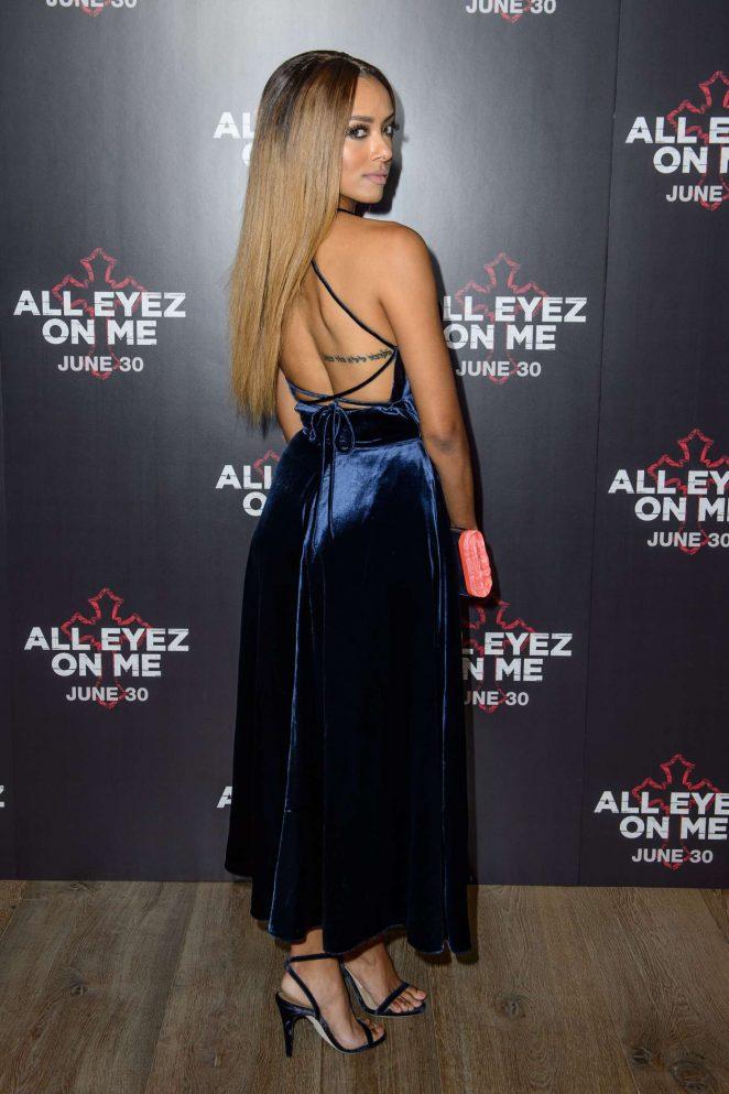 Kat Graham: All Eyez On Me Premiere in London -16