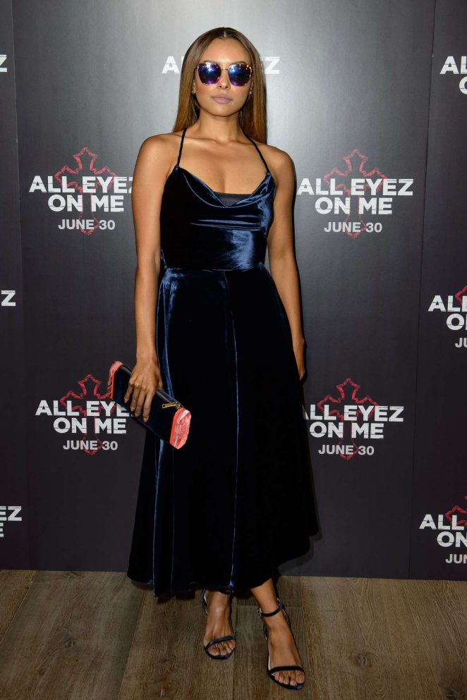 Kat Graham: All Eyez On Me Premiere in London -18