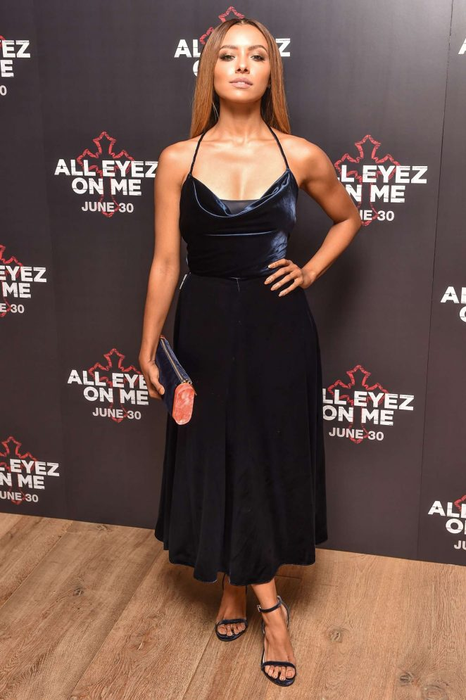 Kat Graham: All Eyez On Me Premiere in London -19