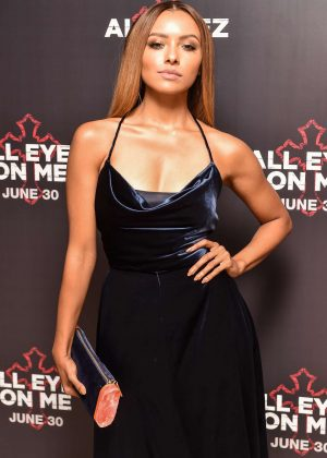 Kat Graham - 'All Eyez On Me' Premiere in London