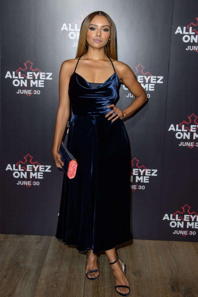 Kat Graham: All Eyez On Me Premiere in London -23