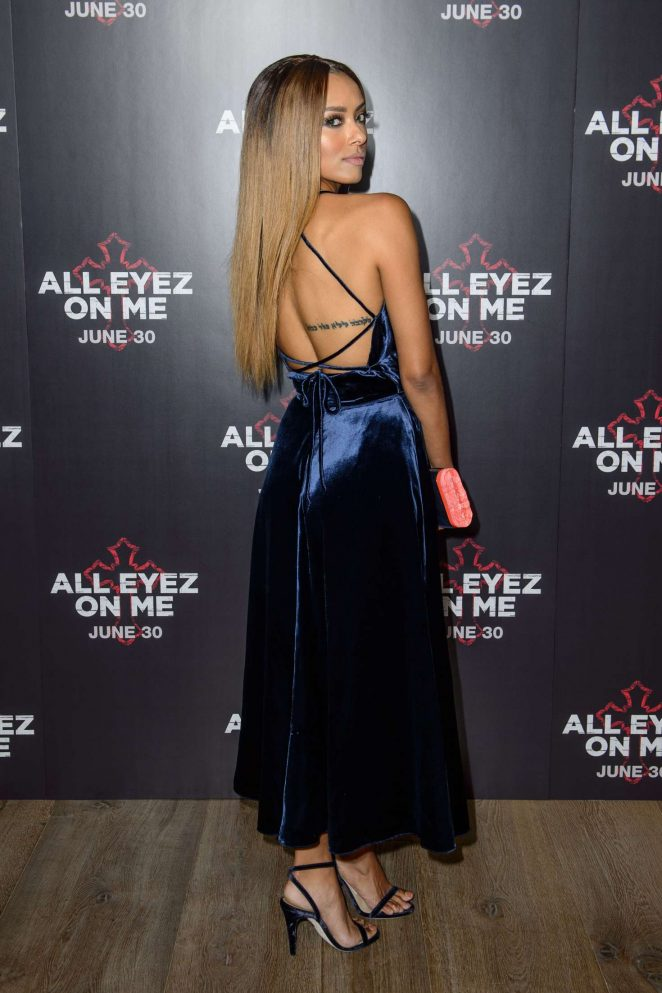Kat Graham: All Eyez On Me Premiere in London -31