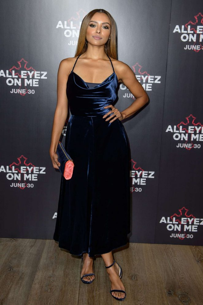 Kat Graham: All Eyez On Me Premiere in London -38
