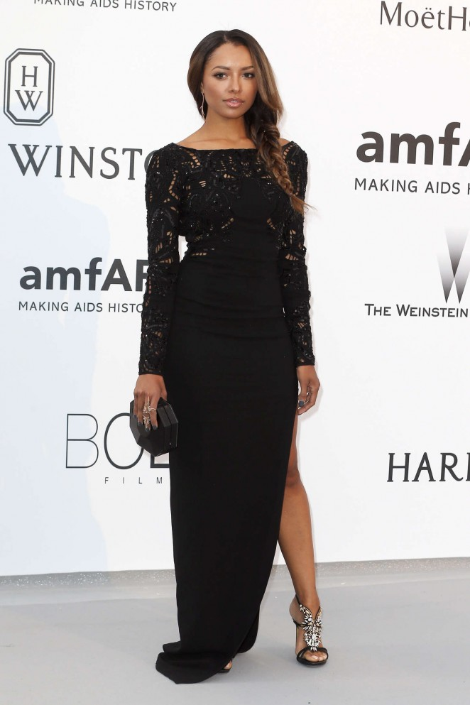 Kat Graham - amfAR 2015 Cinema Against AIDS Gala in Cannes