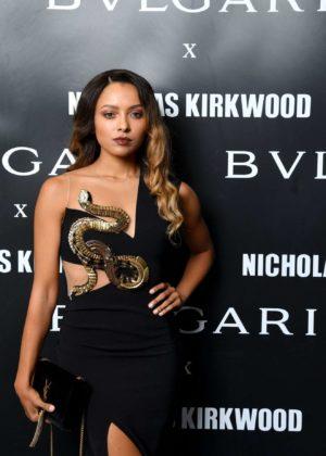 Kat Graham - Bvlgari Celebrates Serpenti Forever by Nicholas Kirkwood in Milan