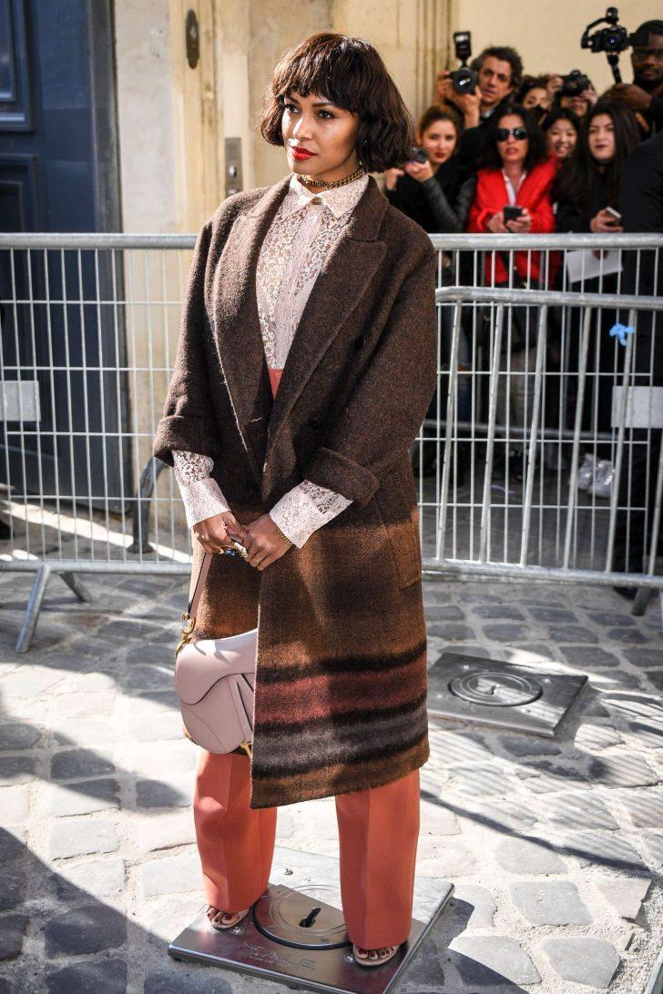 Kat Graham - Christian Dior Fashion Show in Paris