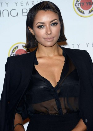 Kat Graham - City Year Los Angeles Spring Break in LA