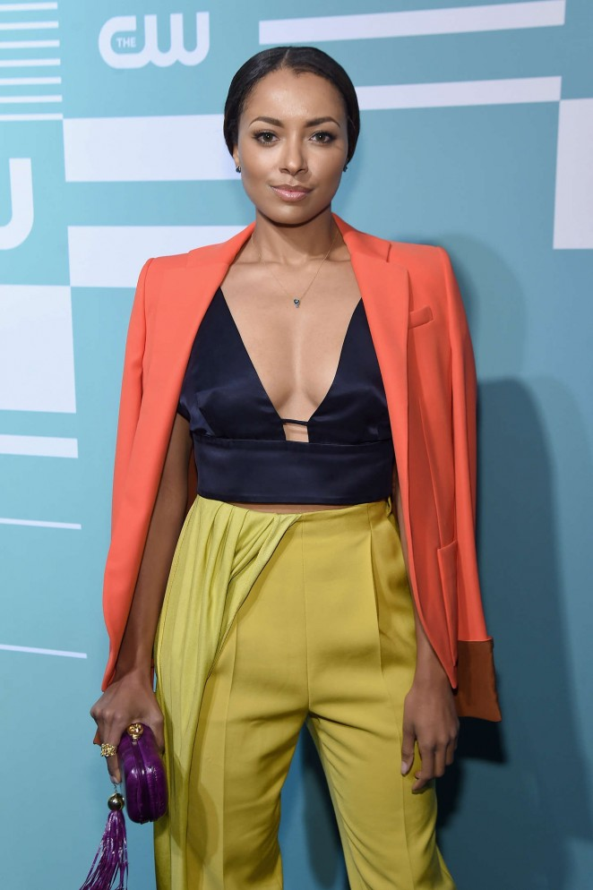Kat Graham – CW Network's 2015 Upfront in NYC