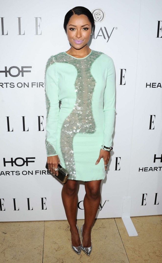 Kat Graham - ELLE's Annual Women in Television Celebration 2015